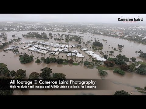 Townsville Flood 2019 (aerial footage during the peak)