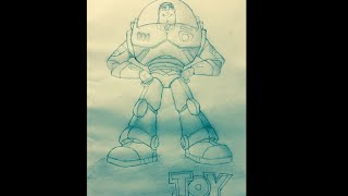 Toy Story Disney Art Draw Buzz Lightyear