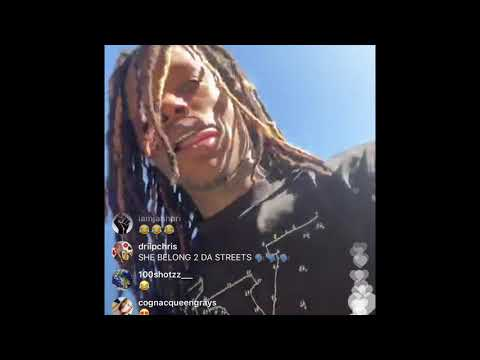 King Von House Tour and Fbg Duck joins live (must watch)
