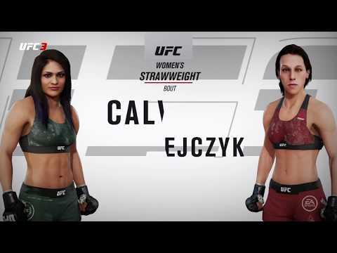 EA SPORTS UFC 3 JOANNA JEDRZEJCZYK VS. CYNTHIA CALVILLO