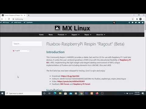 Mx Linux 19.3 | Mx Linux  Raspberry Pi 4 Install | Raspberry Pi 4 Mx Linux Install
