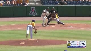 American Baseball Championship: No. 8 Wichita State 12, No. 1 ECU 5