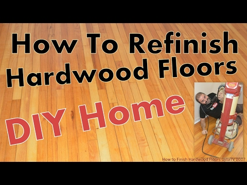 How to Finish Hardwood Floors / Vedat USTA, Best DIY Projects & Do it Yourself How To Projects