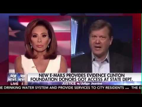 Peter Schweizer  talks to Judge Jeanine Pirro about undisclosed Clinton emails