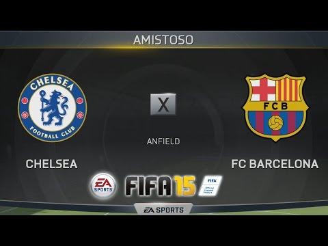 FIFA 15 - Chelsea x Barcelona [PS4 - PT/BR]