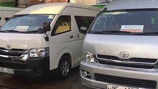 Van for hire , Toyota KDH Highroof by Recharge Travels Ltd