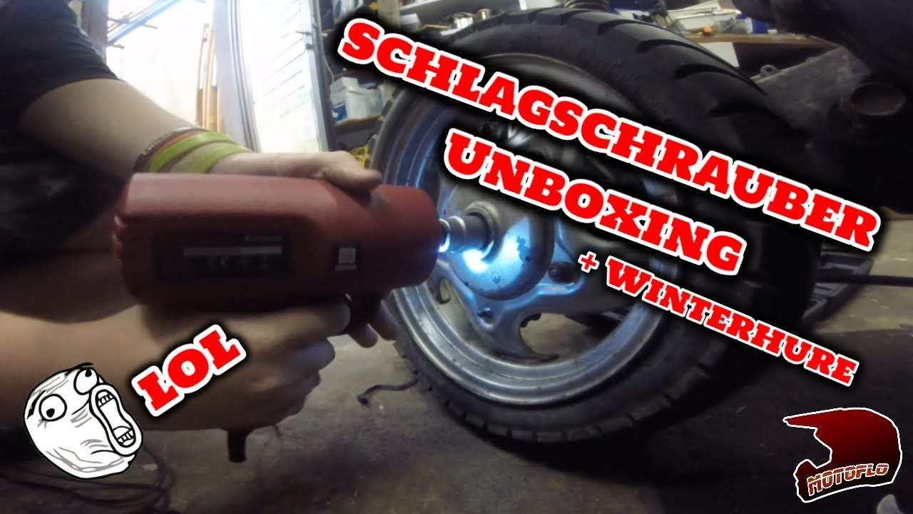 ATU Schlagschrauber Unboxing + Neu zugang im Hause - YouTube