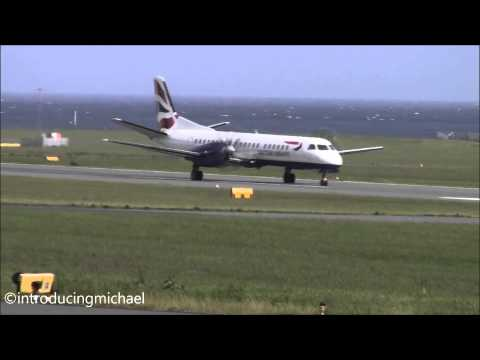 Isle of man airport action