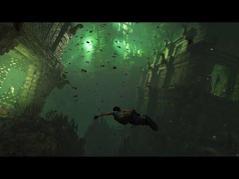 Shadow of the Tomb Raider – Underwater Survival [ESRB]