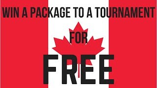 Canadians: Win Free Packages to Poker Tournaments around the World