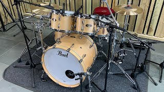Pearl Masters Maple Gum Shell Pack - Drummer's Review