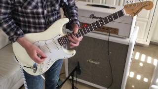 Jimi Hendrix/Foxy Lady feedback intro lesson by Emerson Swinford