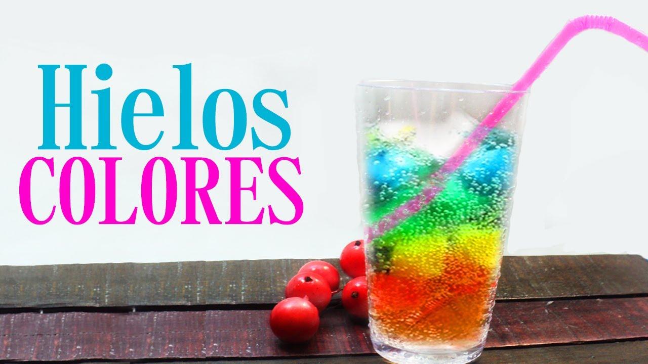 como hacer bebidas de colores sin alcohol