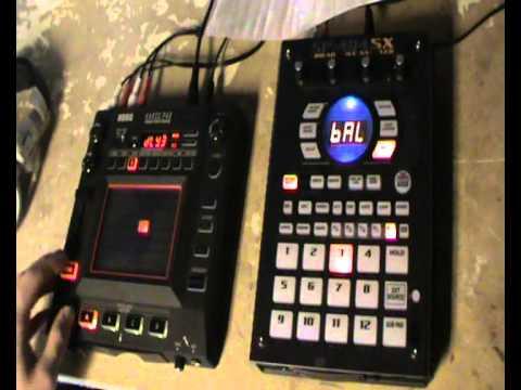 JEROME ZAMBINO - Live Edition 06 (Roland SP-404sx Vs. Korg Kaoss Pad 3)