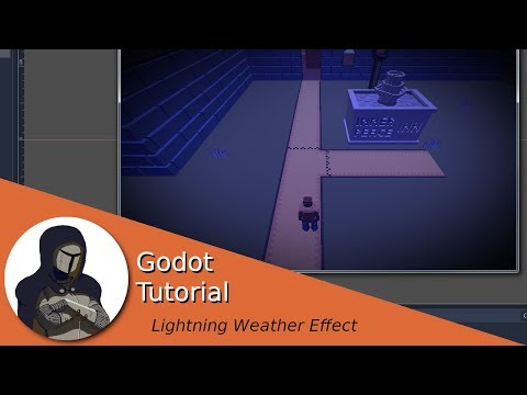 Including lightning weather effects in your game (Godot Tutorial) thumbnail