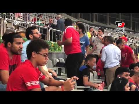 لحظة وصول الخطيب إلي ستاد برج العرب لمؤازرة الأهلي في أولى مبارياته الأفريقية  - 20:54-2019 / 8 / 11