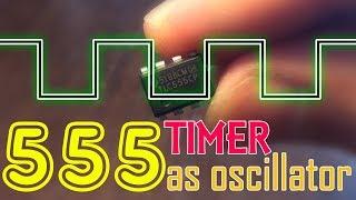 555 TIMER as Oscillator  Astable mode