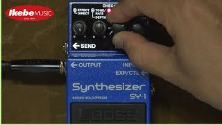【IKEBE channel】BOSS SY-1 Synthesizer All 121 Sounds Sample Vol.2