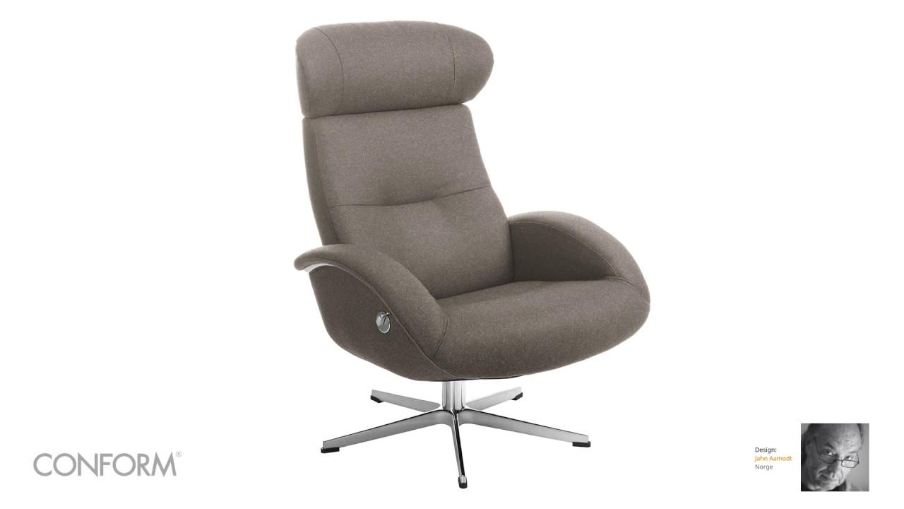 Flow hvilestol med krakk | FINN.no