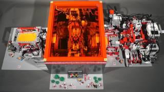 Produktion eines Papierwürfels - Lego Mindstorms