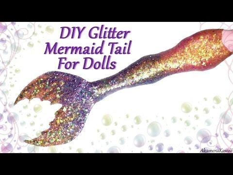 Diy Sparkly Doll Mermaid