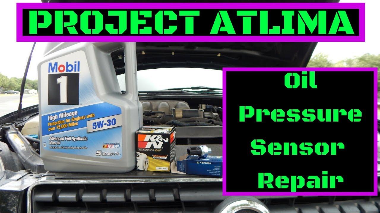 Project Altima SE-R [EP:12] Oil Pressure Sensor Replacement