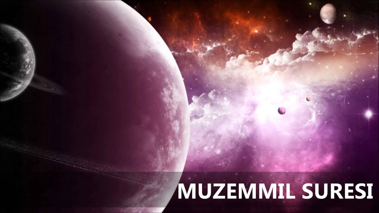 Muzemmil Suresi Türkçe Meali
