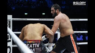 GLORY 62: Benjamin Adegbuyi vs Jamal Ben Saddik (Tournament Final) - Full Fight
