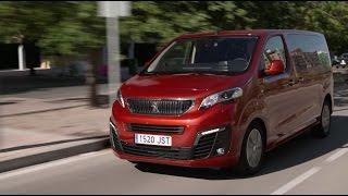 El nuevo Peugeot Traveller, a prueba en Cent metros Cbicos