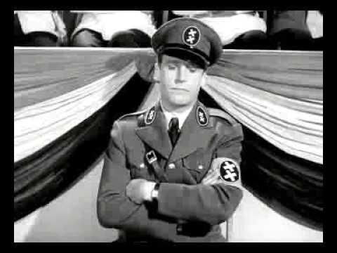 Чарли Чаплин - оратор как Гитлер