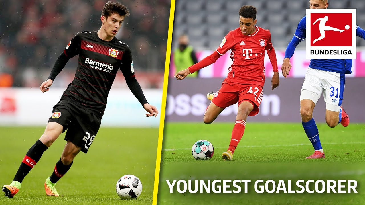 Top 10 Youngest Goalscorers Ever • Updated   Havertz, Werner, Pulisic & More