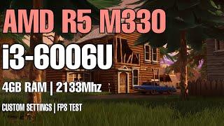 fortnite season 8 on i3 6006u 4gb ram amd r5 m330 60 fps - can you play fortnite on 4gb ram