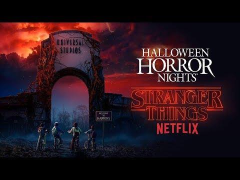 Stranger Things House Reveal | Halloween Horror Nights 2018