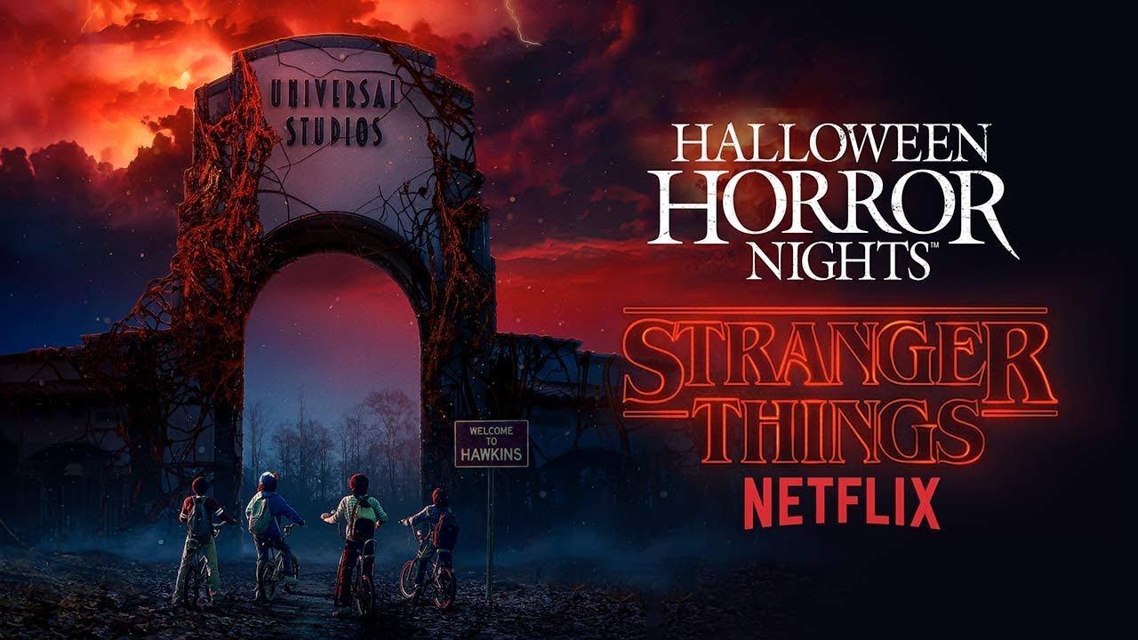 stranger things house reveal | halloween horror nights 2018 - youtube
