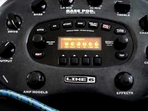 BASS POD XT review amps