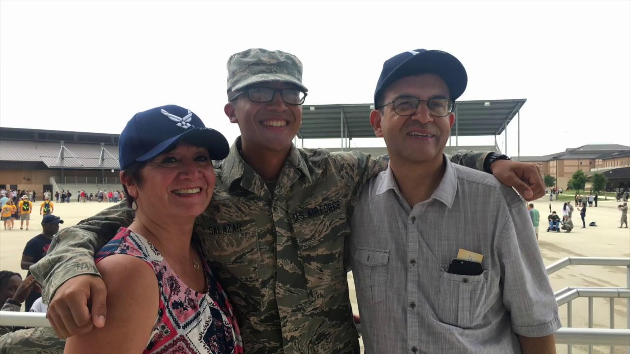 Graduation Ceremony at Lackland Air Force Base May 2019