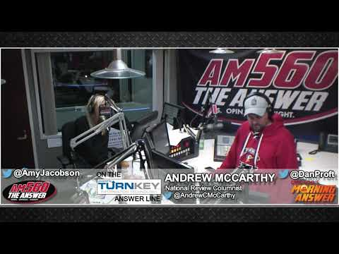 Andrew McCarthy talks about the fading Russia collusion allegations with Dan & Amy