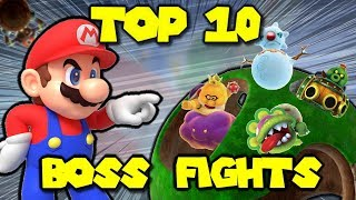 Top 10 Bosses in Super Mario Galaxy 2!