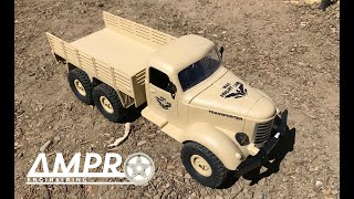 e163: JJRC Q60 1 / 16 2.4G 6WD Military Off-Road Truck - The Buyers Guide Series