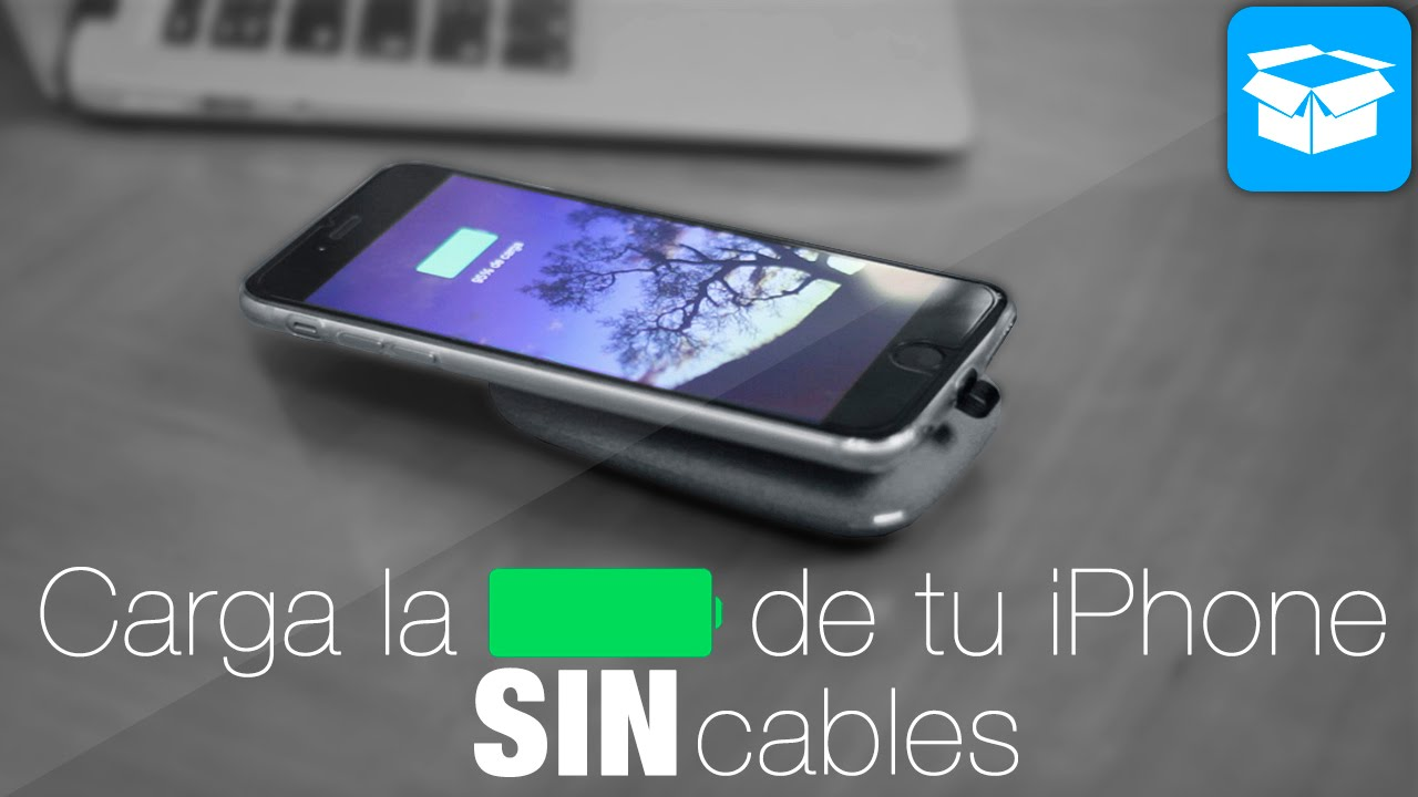 052efbee93e Cómo cargar la batería de tu iPhone de forma inalámbrica - YouTube
