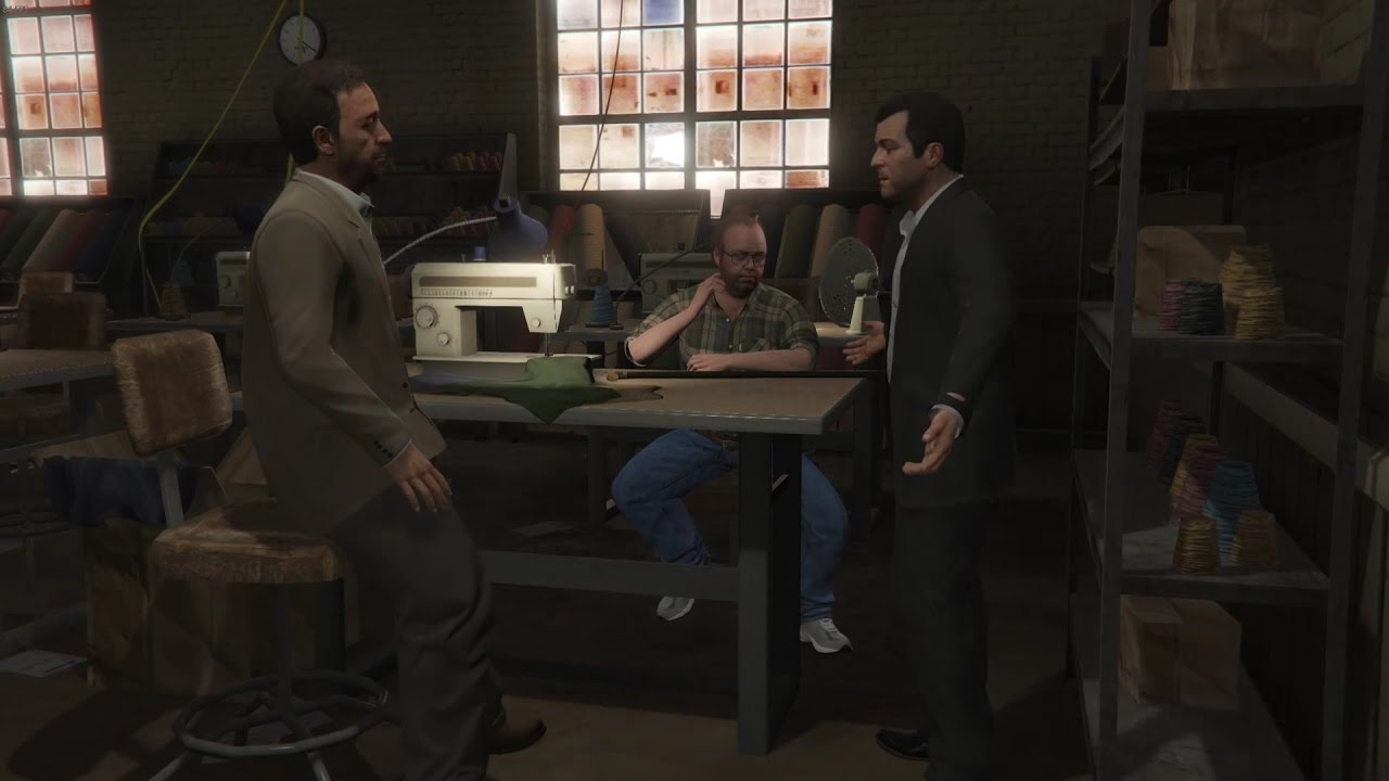 gta v walkthrough 50 cleaning out the bureau youtube. Black Bedroom Furniture Sets. Home Design Ideas