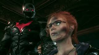 Batman: Arkham Knight - New Game Plus (Batman Beyond Skin) Xbox One Part 39