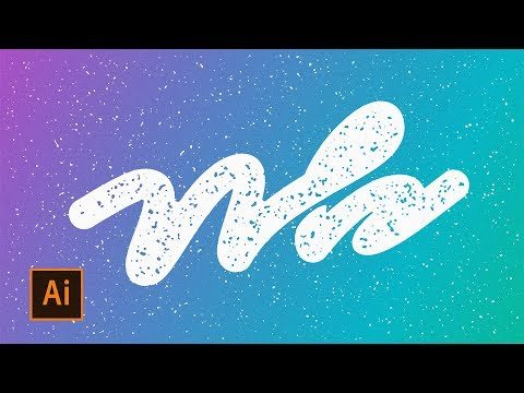 How to Add a Simple Texture in Adobe Illustrator thumbnail