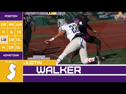 Justin Walker  UAlbany 2017 NLI Signee