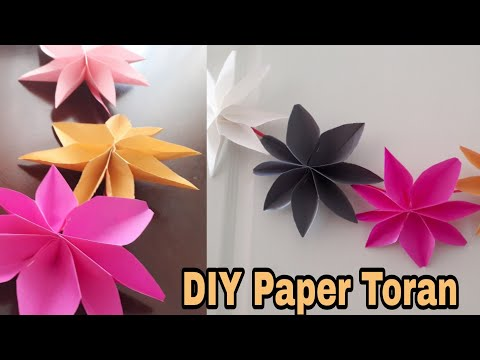 New year 2019 & Christmas Decoration|Star Garland| Paper decoration ideas | Quicky Crafts