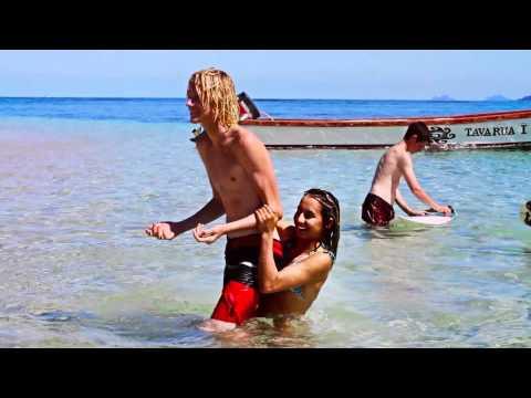 Frankie Harrer in Fiji