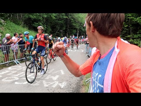 Achieved a Dream! Tour de France Stage 9 - Mont du Chat