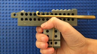 How to make a working lego semi automatic gun