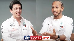 Lewis Hamilton & Toto Wolff open up on contract negotiations, arguments & Mercedes' F1 success
