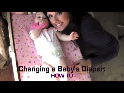 tips on how to change a babys diaper Your baby's diaper needs to be changed up to 7 or 8 times a day an infant's very delicate little bottom can easily become irritated from dampness, contact with urine and stools, or friction from diapers as a result, special care is needed each time you change your baby's diaper here are some tips for preserving the.